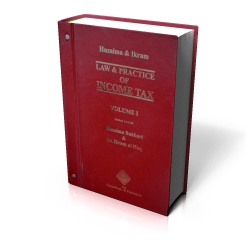 LAW & PRACTICE OF INCOME TAX