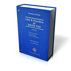 LAW & PRACTICE OF SALES TAX ( WITH UPDATING SERVICE)